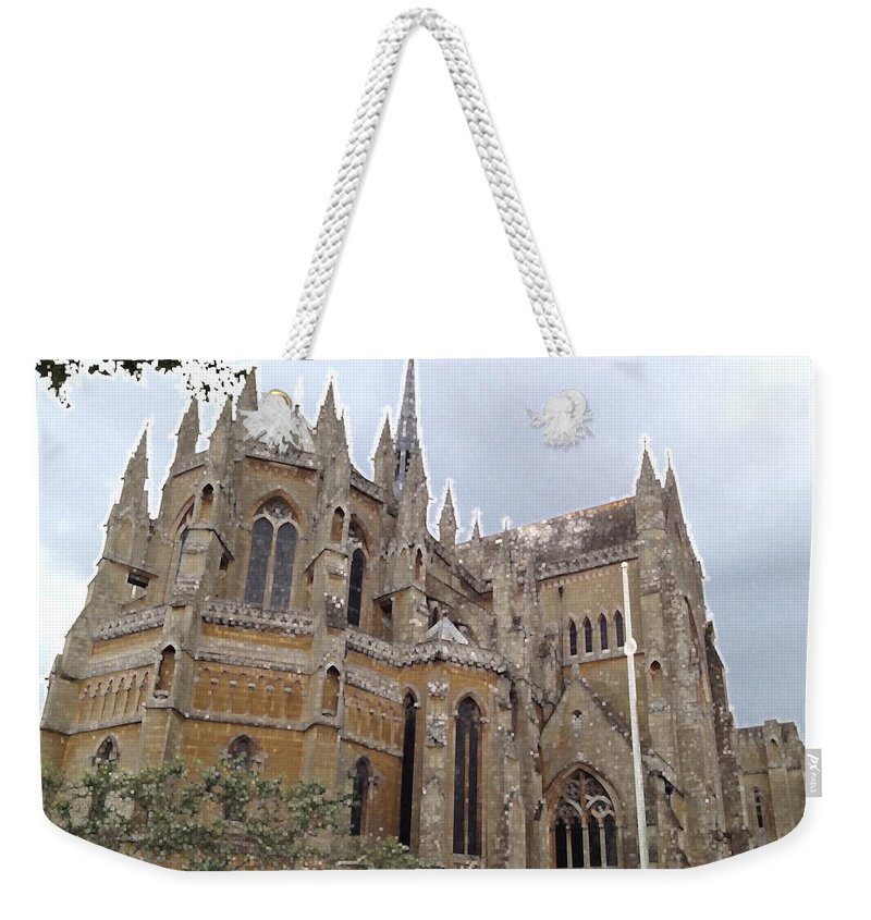 Photograph Weekender Tote Bag featuring the photograph Soaring Spires by Nicole Parks