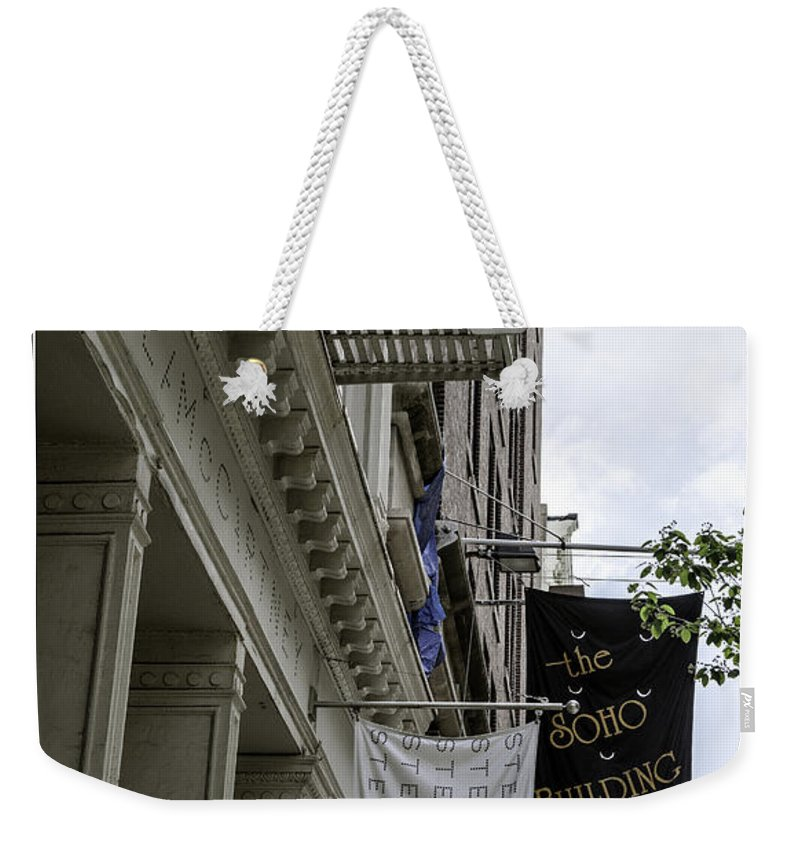 Soho Weekender Tote Bag featuring the photograph Soho 2 - Nyc by Madeline Ellis