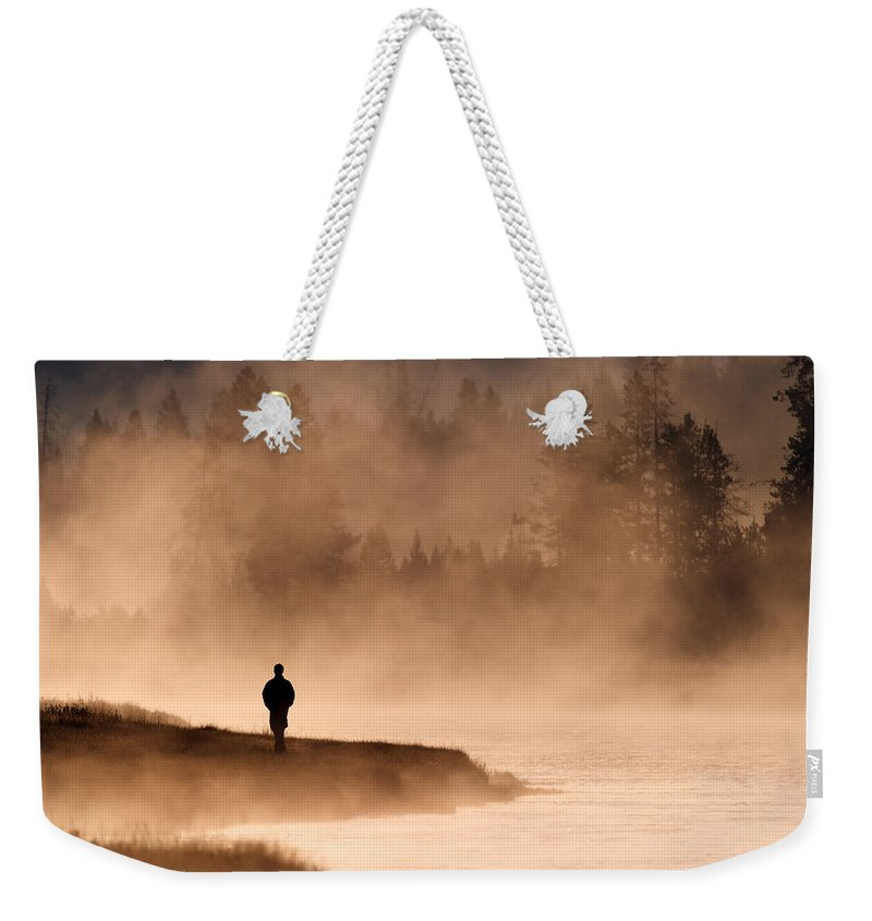 Solitude Weekender Tote Bag featuring the photograph Solitude by Gary Langley
