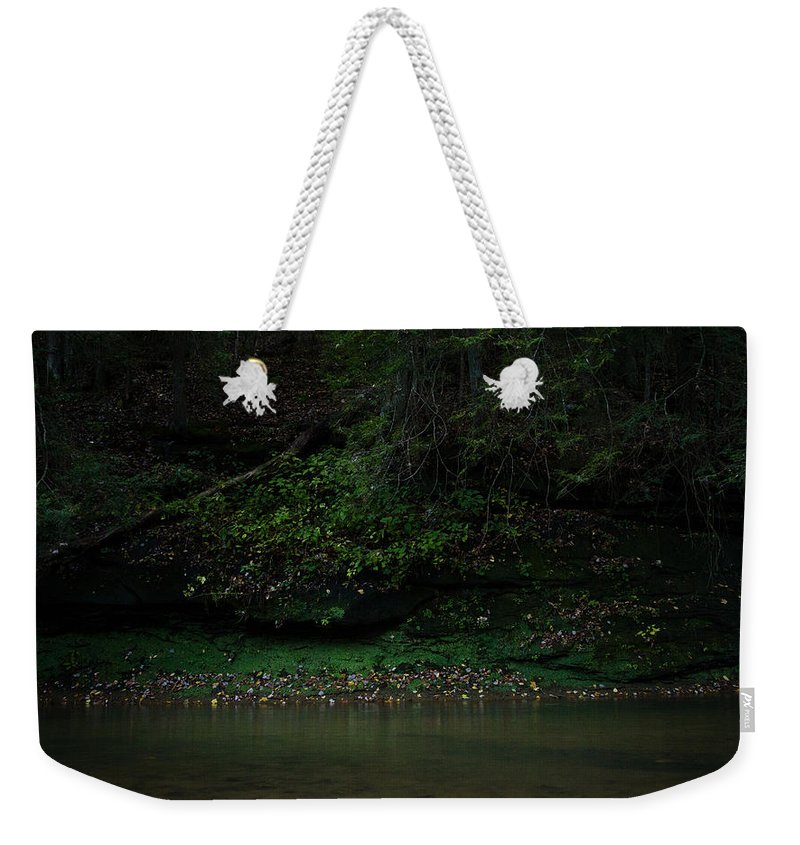 Solitude Weekender Tote Bag featuring the photograph Solitude by Shane Holsclaw