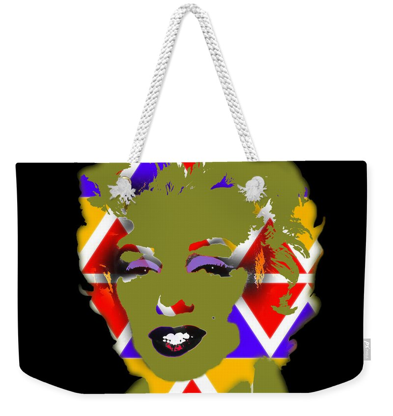 Native American Art Weekender Tote Bag featuring the digital art Some Like It Native by Charles Stuart