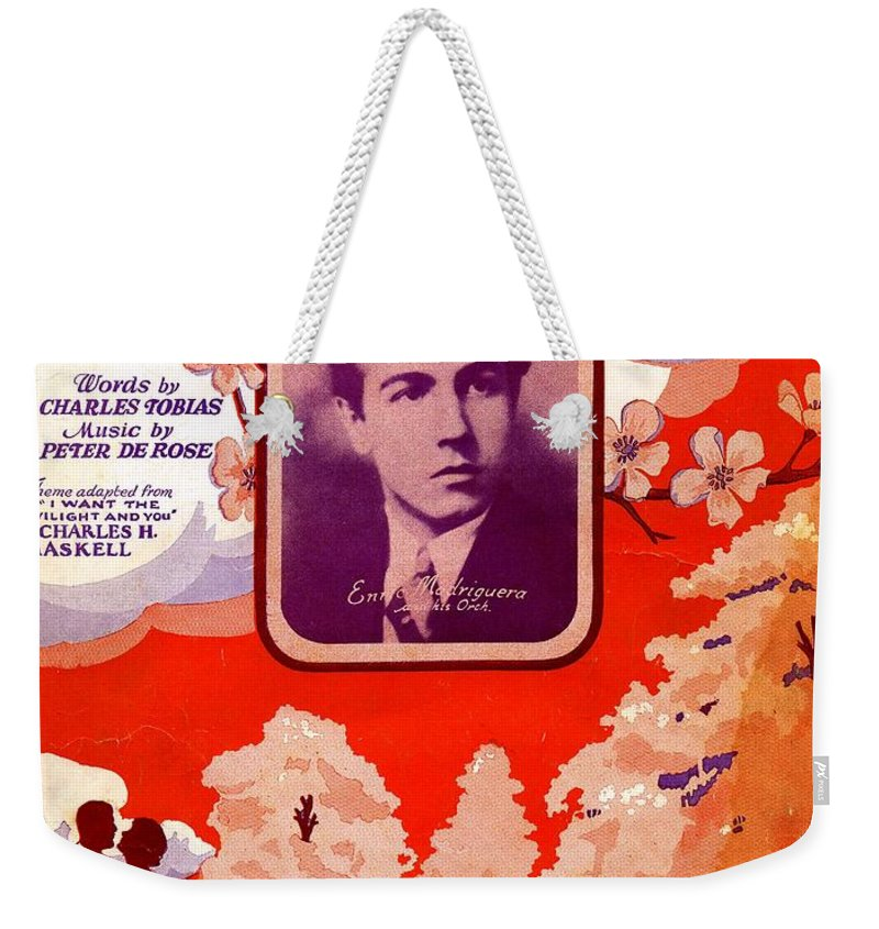 Nostalgia Weekender Tote Bag featuring the photograph Somebody Loves You by Mel Thompson