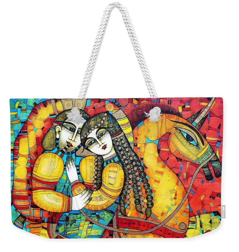 Fairy Tale Weekender Tote Bags