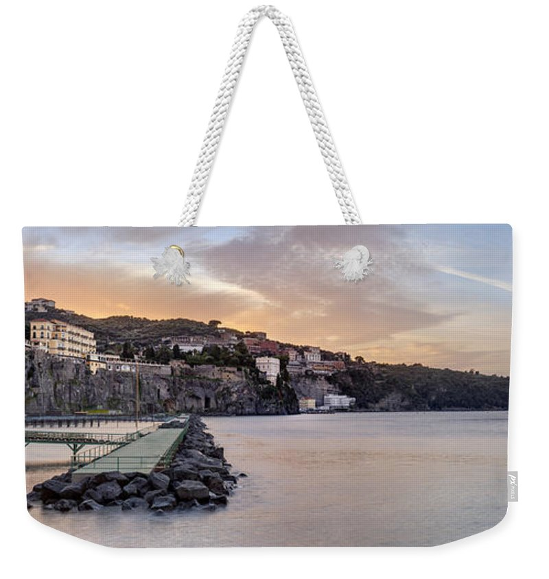 Campania Weekender Tote Bag featuring the photograph Sorrento by Julie Woodhouse