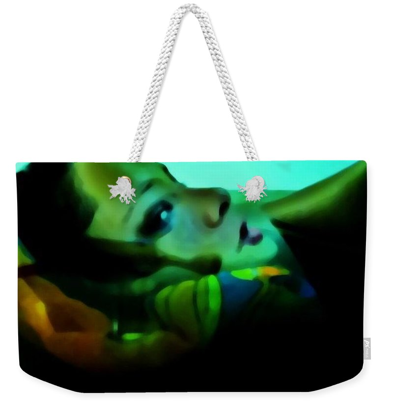 Water Weekender Tote Bag featuring the photograph Soused by Jessica Shelton