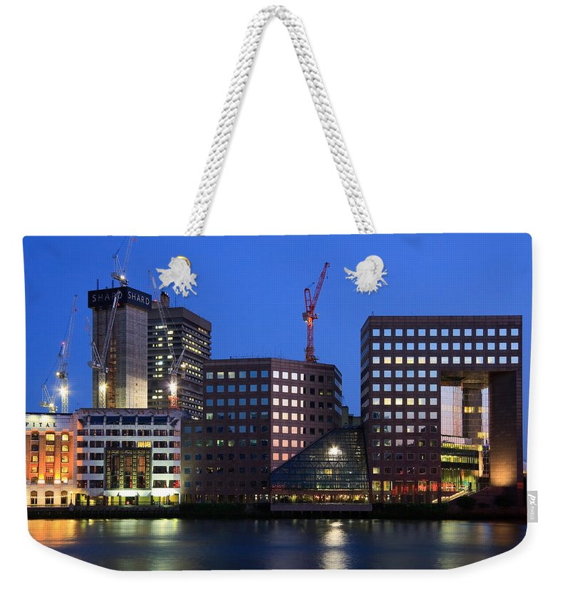 Great Britain Weekender Tote Bag featuring the photograph Southbank In London. by Milan Gonda
