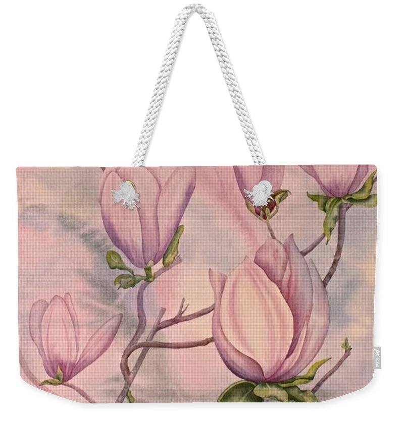 Southern Belle Weekender Tote Bag featuring the painting Southern Belle by Heather Gallup