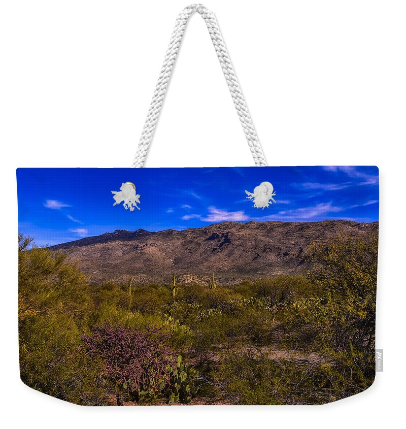 Arizona Weekender Tote Bag featuring the photograph Southwest Salad No.11 by Mark Myhaver