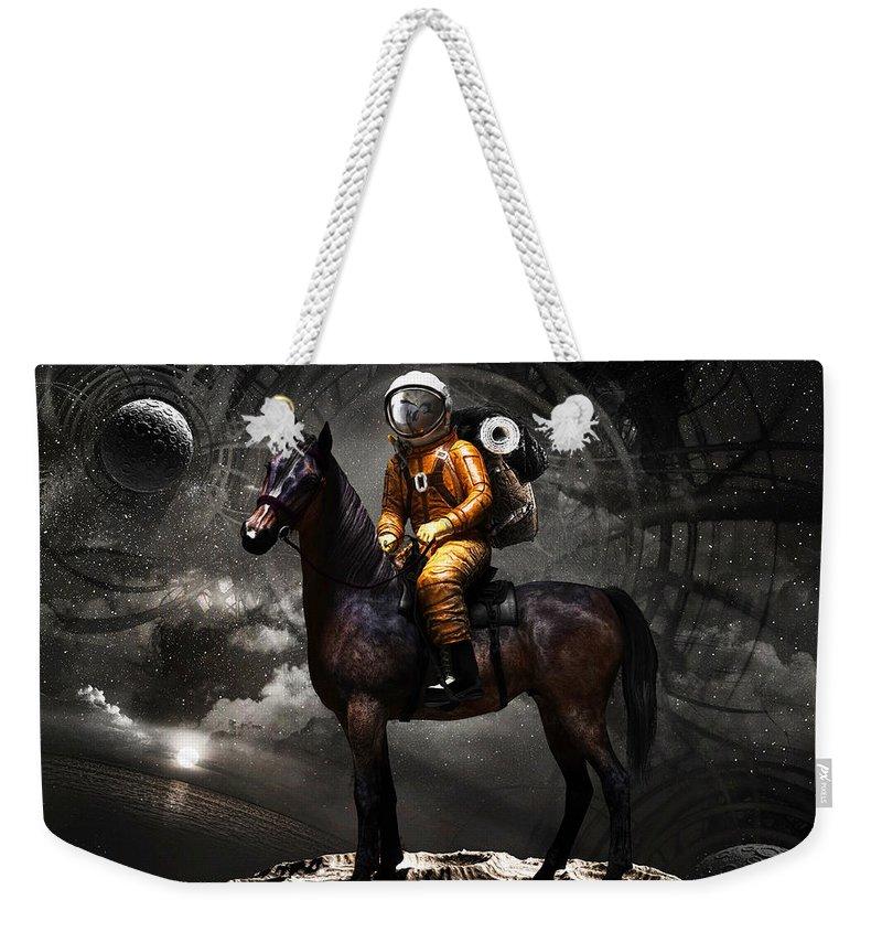 Space Weekender Tote Bags