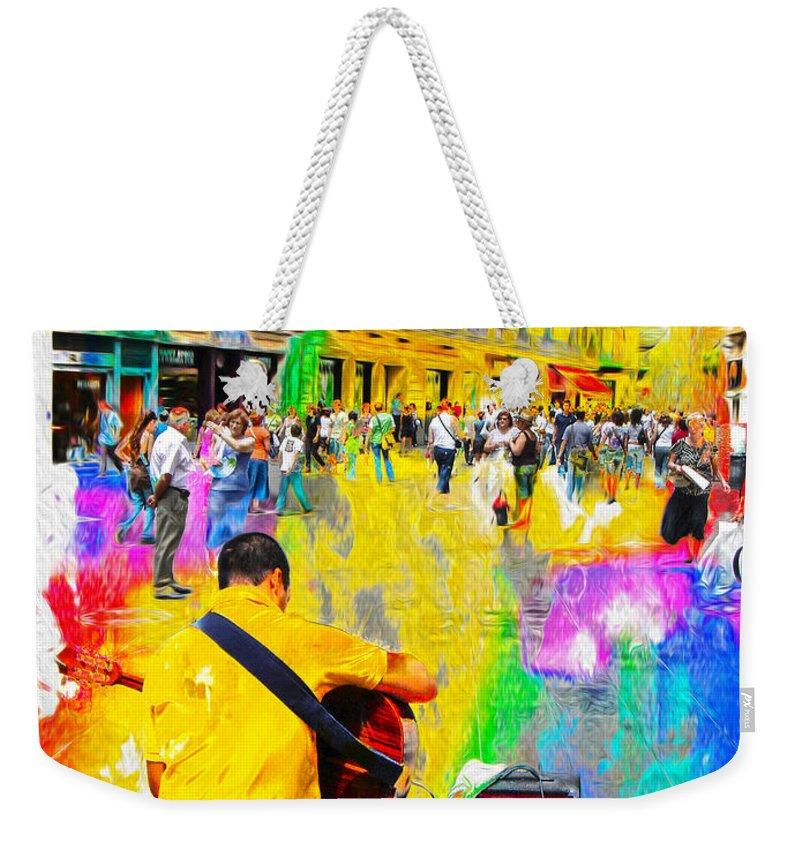 Spain Weekender Tote Bag featuring the photograph Spain Series 17 by Carlos Diaz