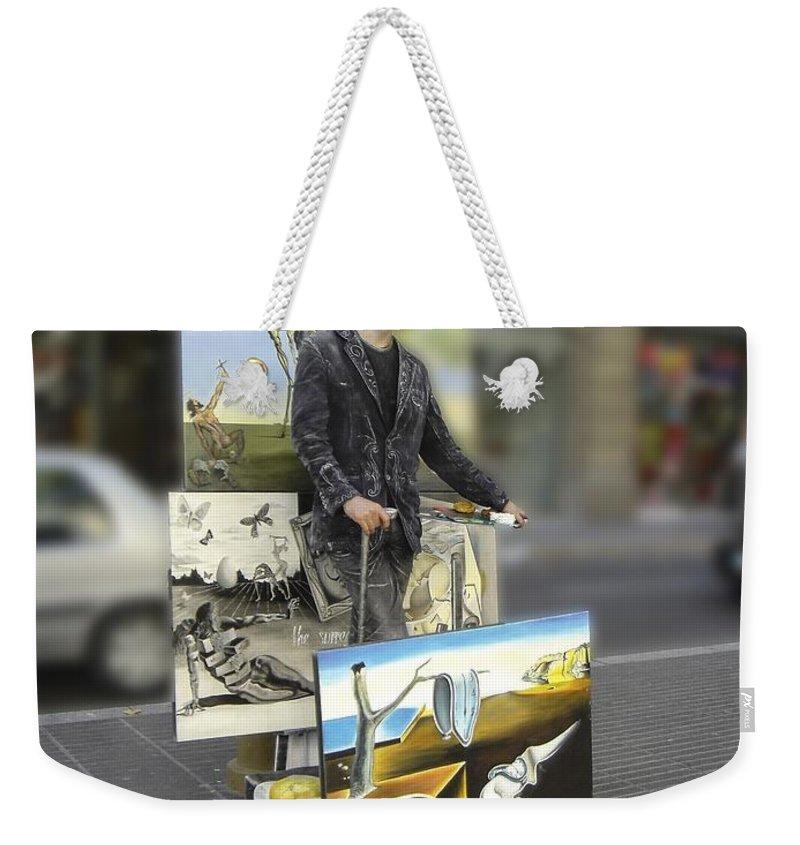 Spain Weekender Tote Bag featuring the photograph Painter In Spain Series 23 by Carlos Diaz