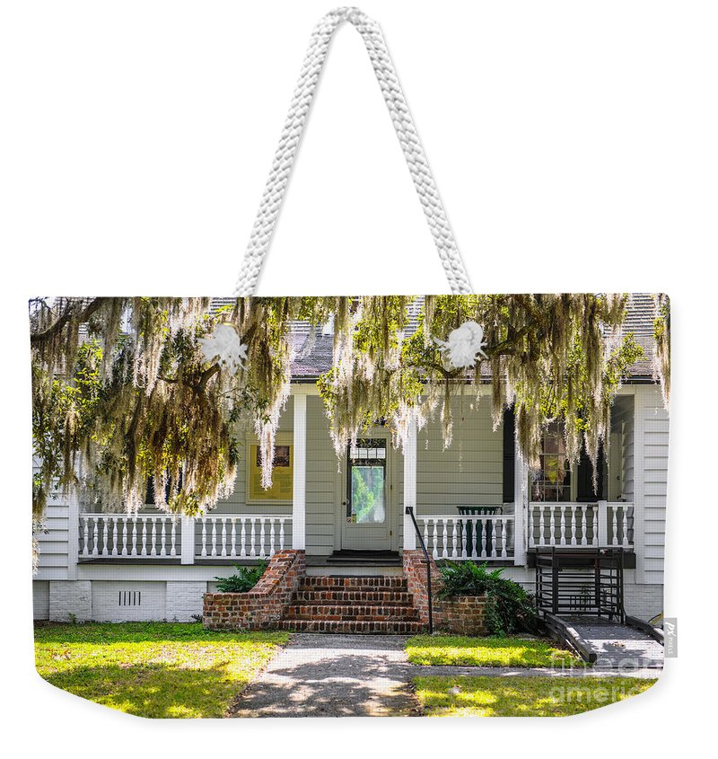 Charles Pinckney Weekender Tote Bag featuring the photograph Spanish Moss by Dale Powell