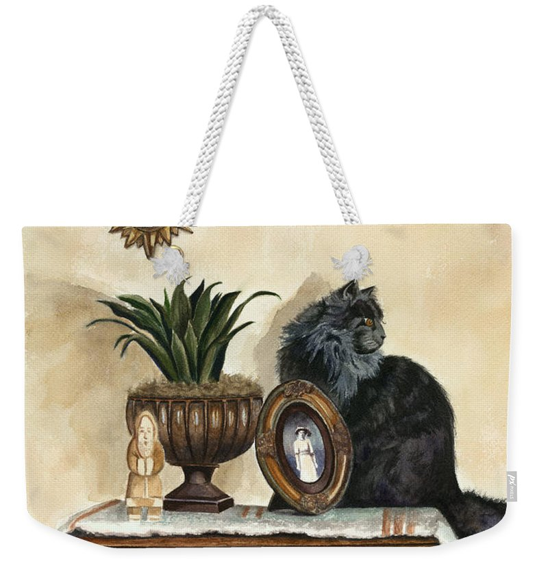 Special Treasures Weekender Tote Bag featuring the painting Special Treasures by Terri Meyer