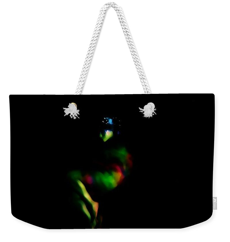 Color Weekender Tote Bag featuring the photograph Spectrum by Jessica Shelton