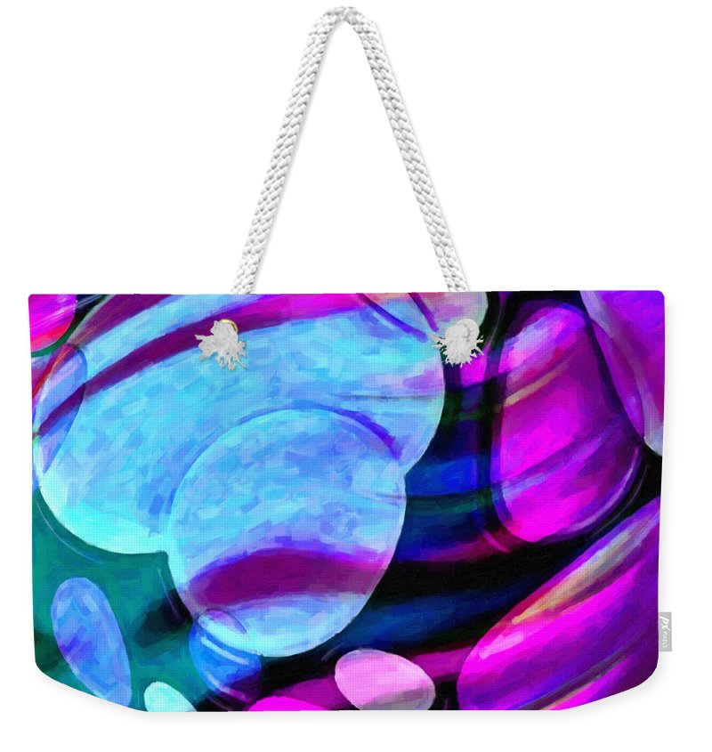 Kenny Francis Weekender Tote Bag featuring the photograph Spheres Of Influence by Kenny Francis