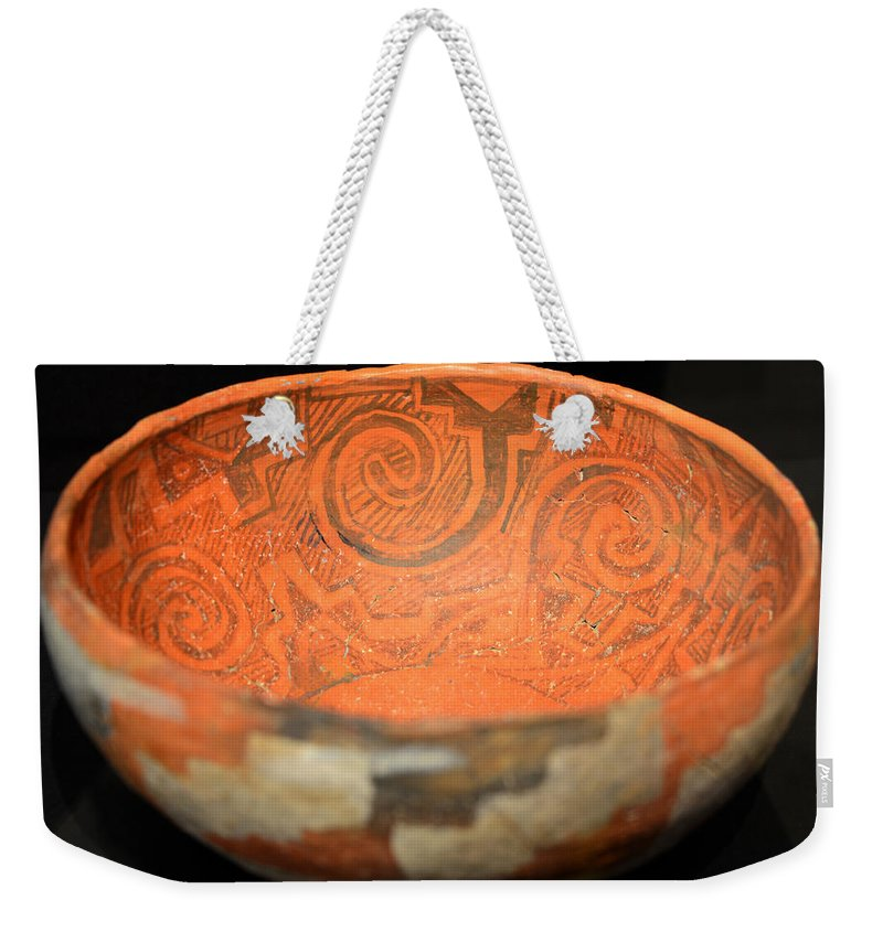 Polychrome Weekender Tote Bag featuring the photograph Spirals In Polychrome by David Lee Thompson