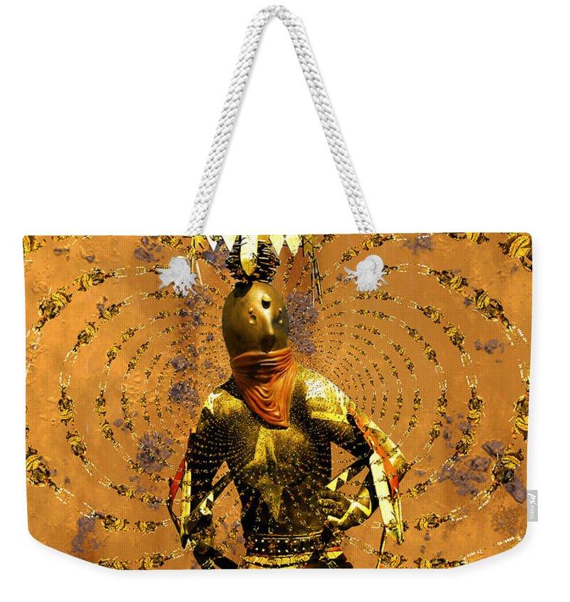 Kachina Weekender Tote Bag featuring the photograph Spirit Dance by Kurt Van Wagner