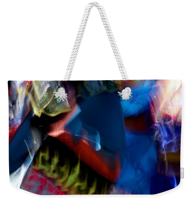 Pow Wow Weekender Tote Bag featuring the photograph Spirits 1 by Joe Kozlowski