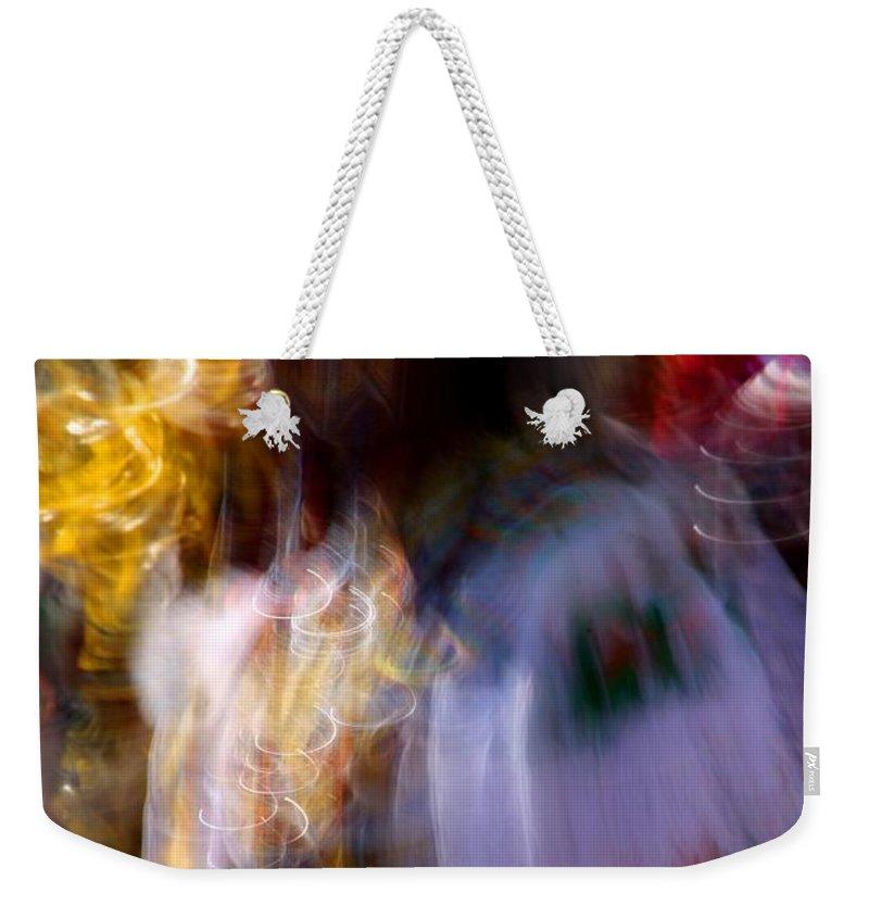 Pow Wow Weekender Tote Bag featuring the photograph Spirits 2 by Joe Kozlowski