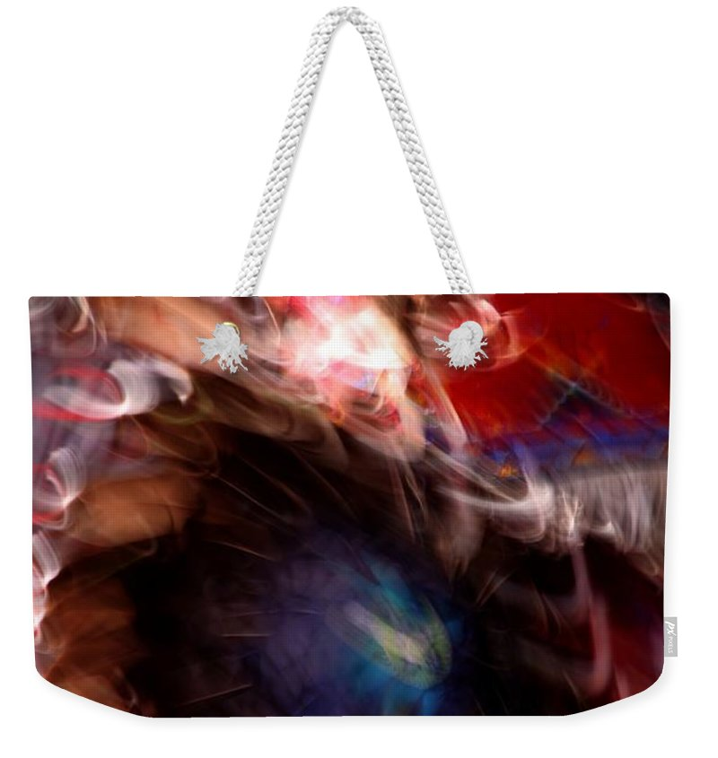 Pow Wow Weekender Tote Bag featuring the photograph Spirits 5 by Joe Kozlowski