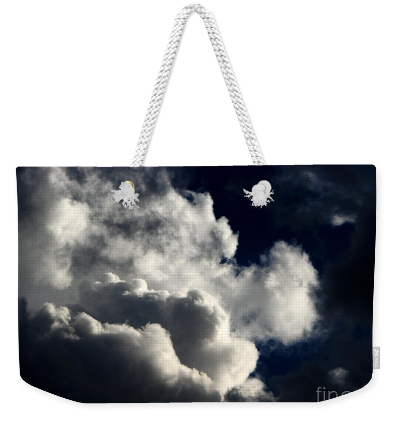 Art For The Wall...patzer Photography Weekender Tote Bag featuring the photograph Spiritual by Greg Patzer