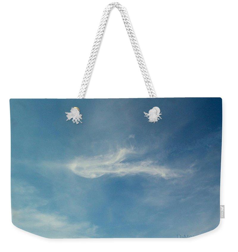 Spiritus Weekender Tote Bag featuring the photograph Sylph Elemental by Deborah Moen