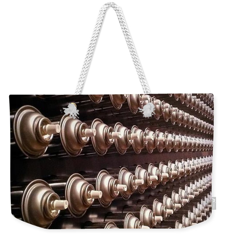 Spray Cans Weekender Tote Bag featuring the photograph Spray Can Art by Catie Canetti