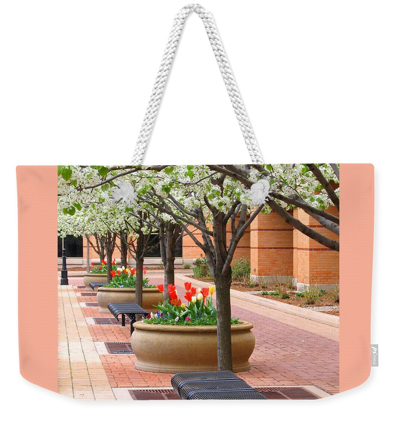 Spring Weekender Tote Bag featuring the photograph Spring Fragrance by Ann Horn