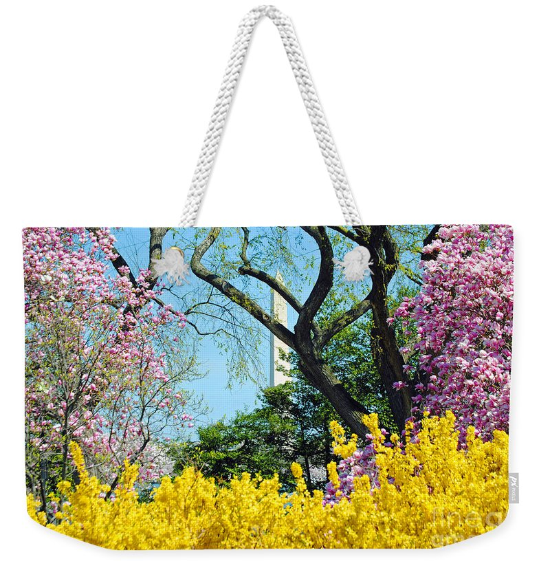Cherry Weekender Tote Bag featuring the photograph Spring Has Sprung by Jost Houk