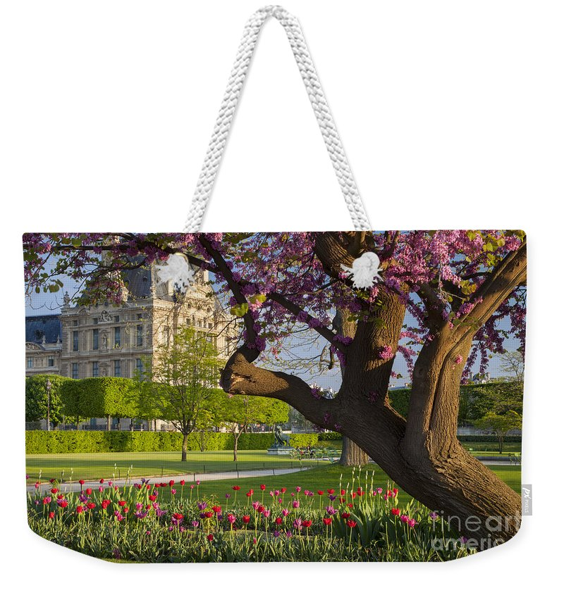 Architecture Weekender Tote Bag featuring the photograph Spring In Paris by Brian Jannsen