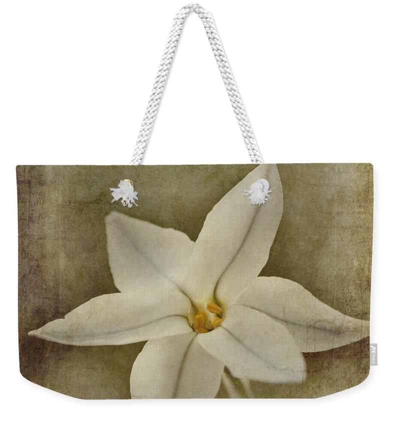 Starflower Weekender Tote Bags