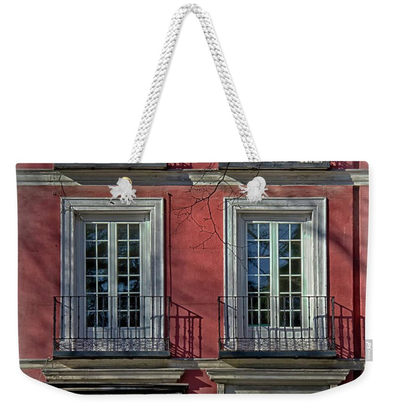 Ancient Weekender Tote Bag featuring the photograph Spring Sunshine In Madrid by Joan Carroll