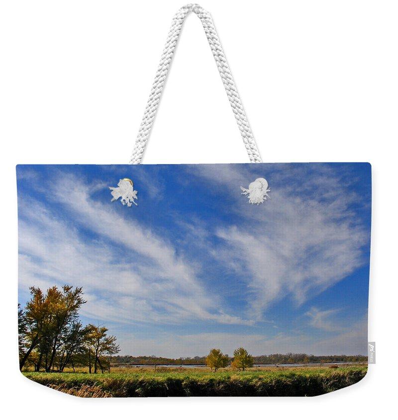 Landscape Weekender Tote Bag featuring the photograph Squaw Creek Landscape by Steve Karol