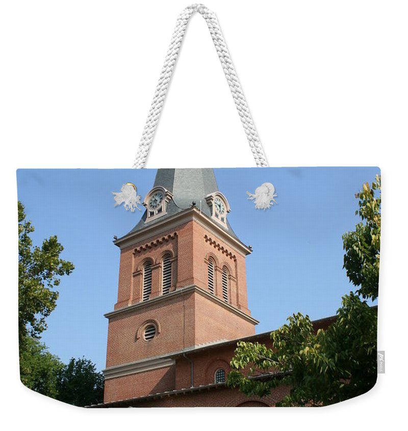 Church Weekender Tote Bag featuring the photograph St. Anne's Episcopal Church by Christiane Schulze Art And Photography