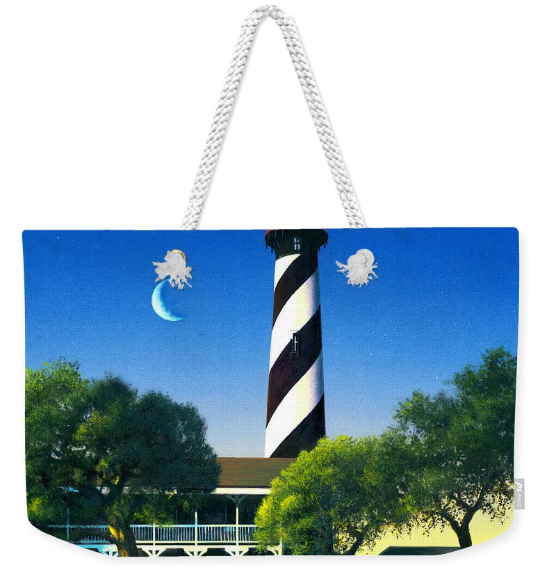 Architecture Weekender Tote Bag featuring the photograph St Augustine by MGL Studio - Chris Hiett
