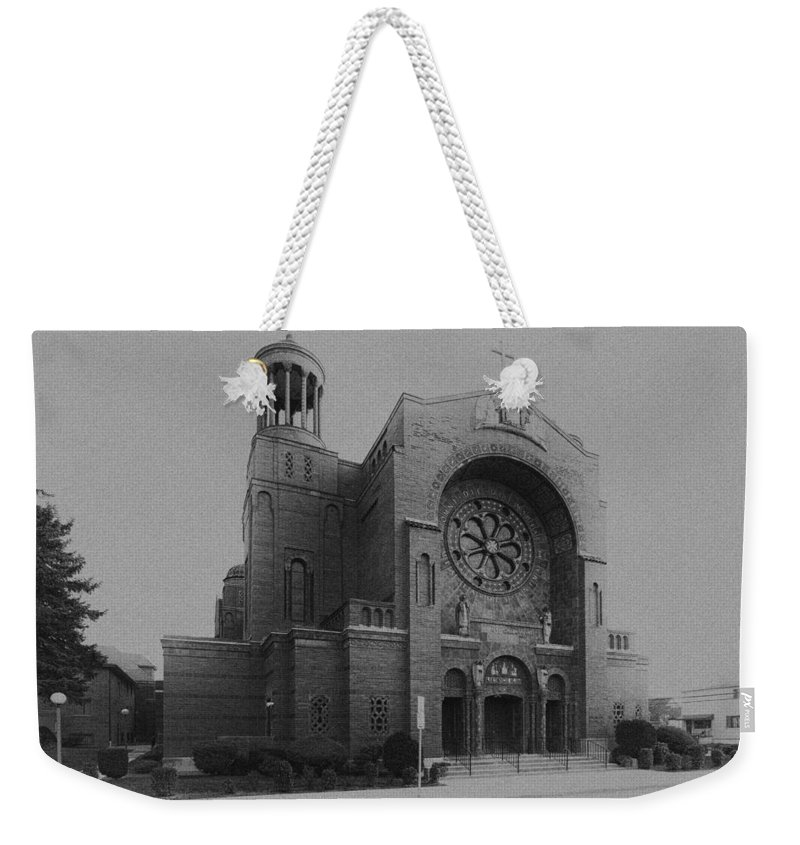 Buffalo Weekender Tote Bag featuring the photograph St Casimir's 10267 by Guy Whiteley