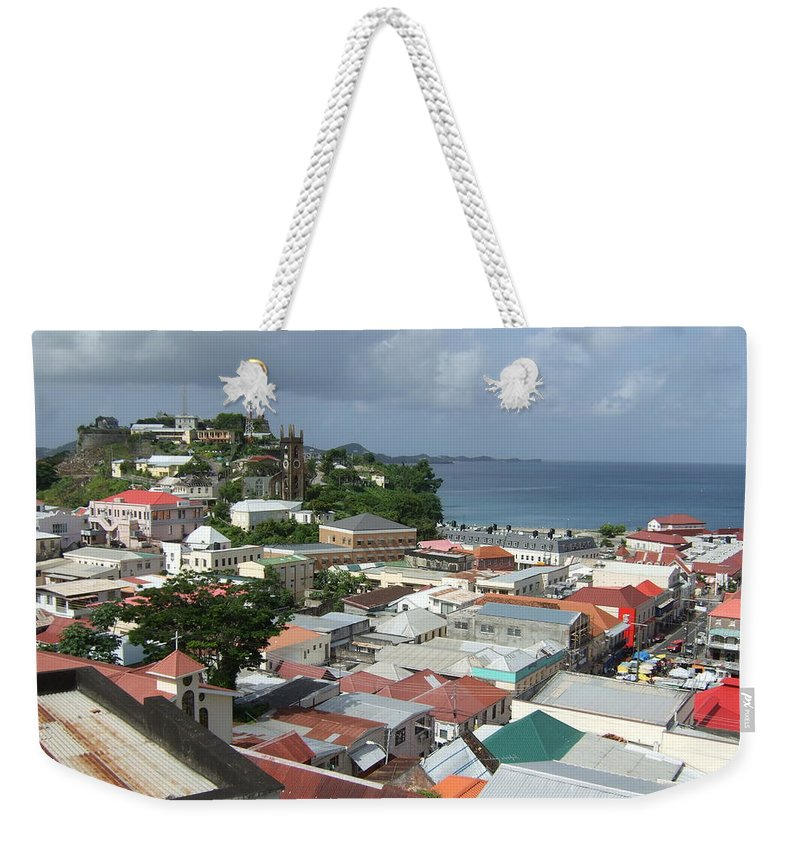 Weekender Tote Bag featuring the photograph St. George by Katerina Naumenko