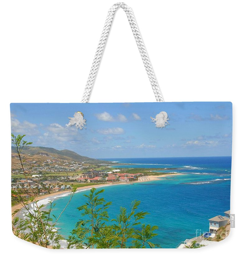 Island Weekender Tote Bag featuring the photograph St. Kitts by Cindy Manero