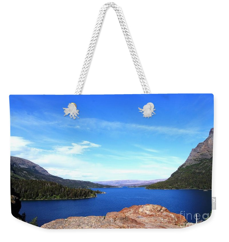 Lake Weekender Tote Bag featuring the photograph St. Mary's by Deanna Cagle