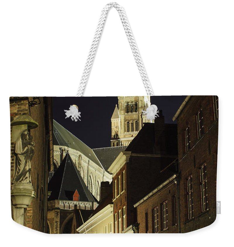 3scape Weekender Tote Bag featuring the photograph St Saviour Cathedral by Adam Romanowicz