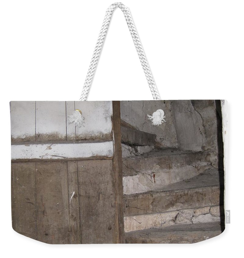 French Village Weekender Tote Bag featuring the photograph Staircase by HEVi FineArt