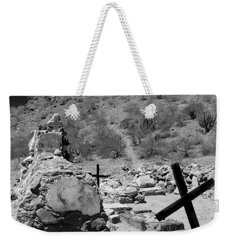 Grave Weekender Tote Bag featuring the photograph Stairway To Heaven by Anne Mott