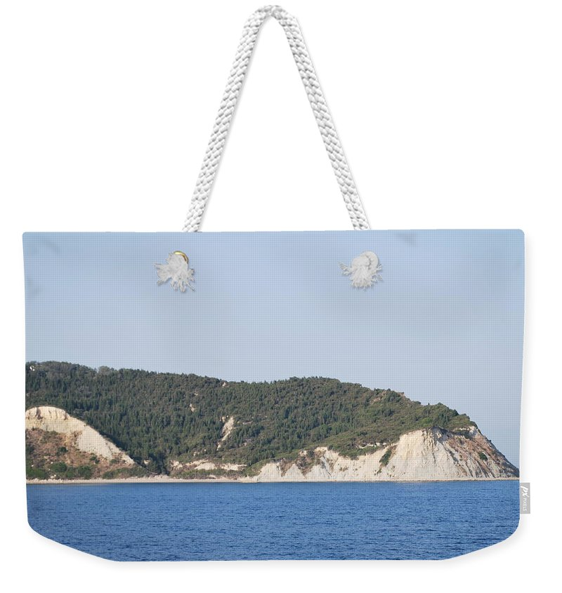 Weekender Tote Bag featuring the photograph Stamoleka 3 by George Katechis