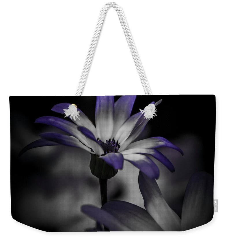 Flower Weekender Tote Bag featuring the photograph Stand Alone by Grace Grogan
