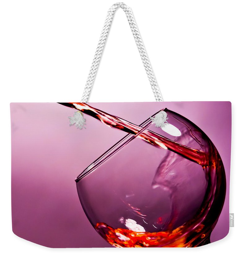 Pouring Photographs Weekender Tote Bags