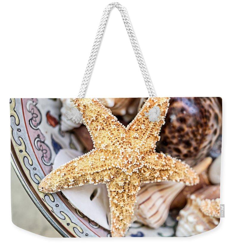 Starfish Weekender Tote Bags