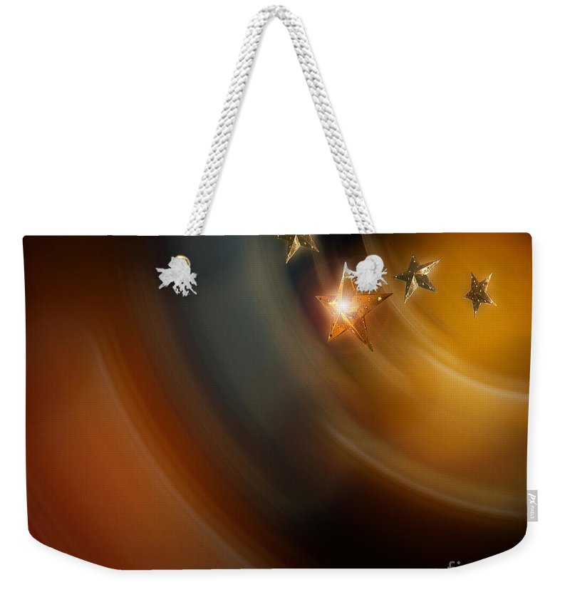 Nag004009 Weekender Tote Bag featuring the photograph Stars Of India by Edmund Nagele