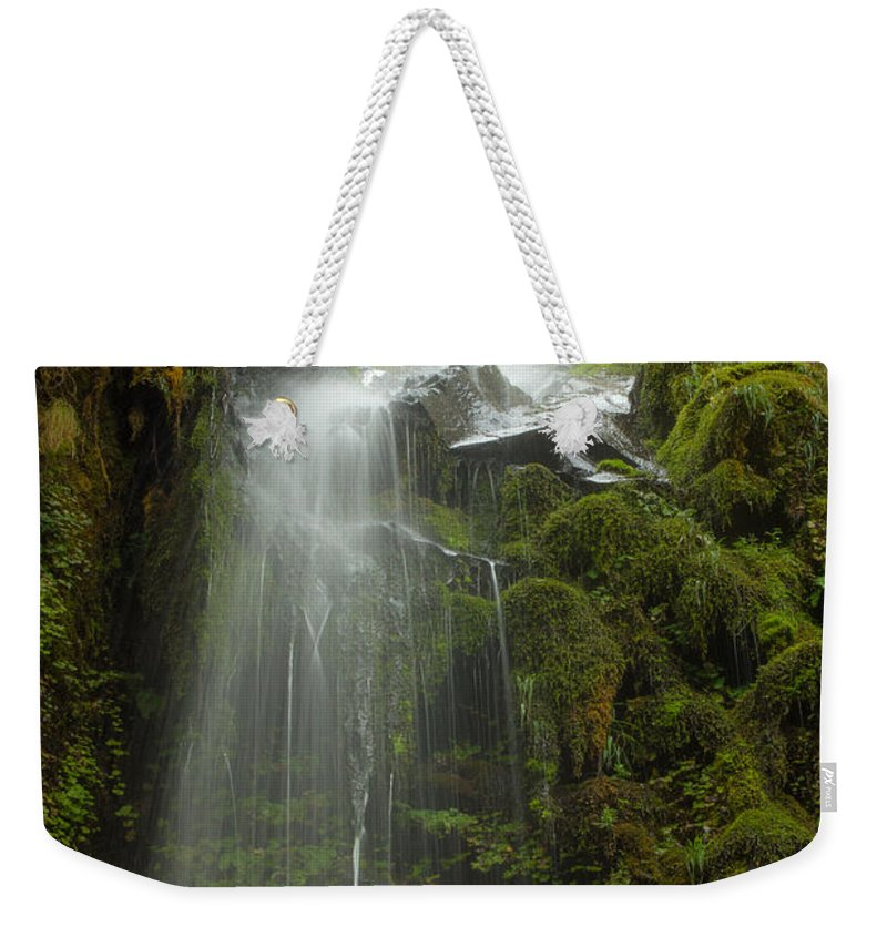 Water Weekender Tote Bag featuring the photograph Starvation But Not Dehdration by Jean Noren