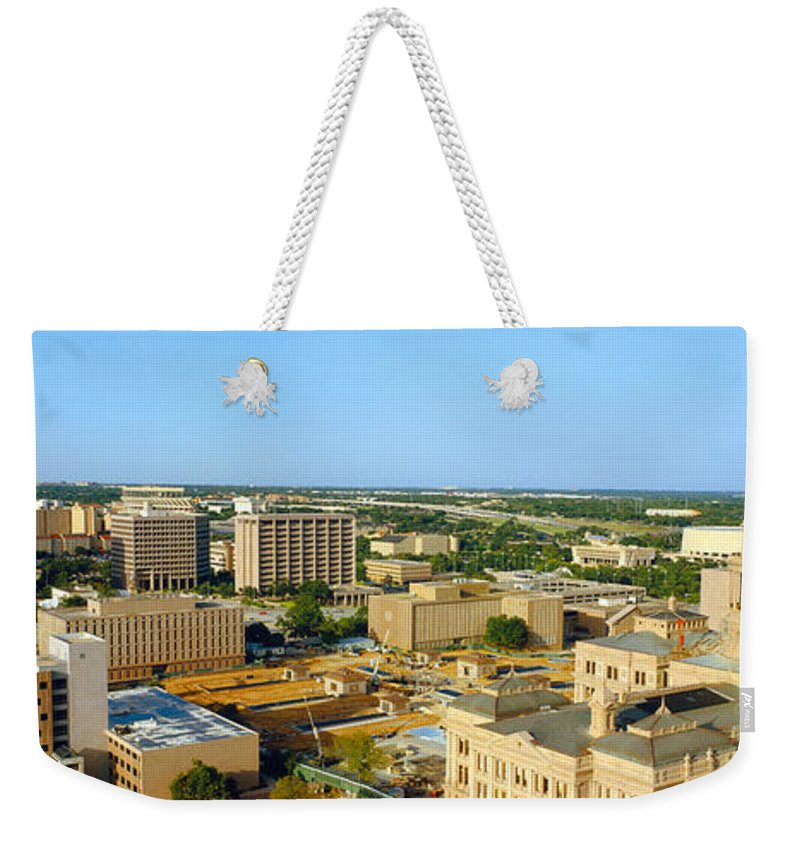 Photography Weekender Tote Bag featuring the photograph State Capitol, Austin, Texas by Panoramic Images