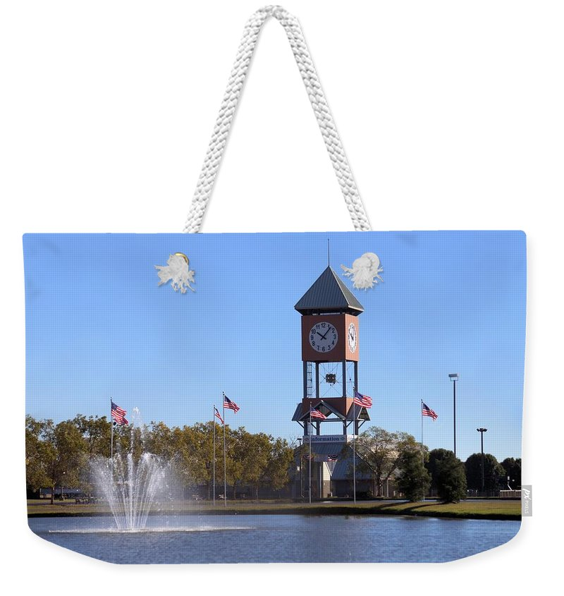 7080 Weekender Tote Bag featuring the photograph State Fairgrounds by Gordon Elwell